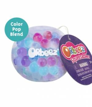 Orbeez Squeezables Clear Sky Blue, Pink, Purple, Clear