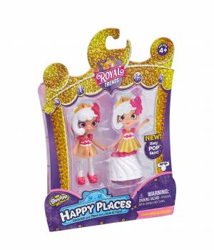 Shopkins Happy Places Single Doll Pack - Cupcake Queenie