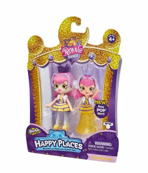 Shopkins Happy Places Single Doll Pack - Queen Beehave
