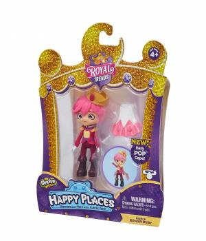 Shopkins Happy Places Single Doll Pack - Rowen Ruby