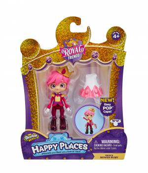 Shopkins Happy Places Single Doll Pack - Royal Ruby
