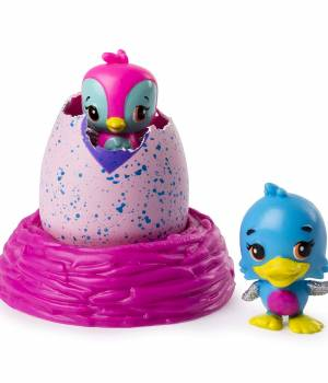 Hatchimals Colleggtibles S2 2 Pack with nest