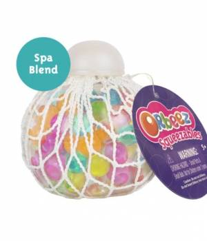 Orbeez Squeezables Clear/Teal, Clear, Orange, Yellow, Pink Whole