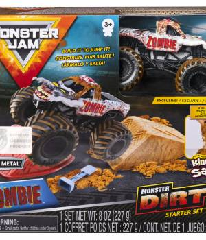 Monster Jam Kinetic Dirt Zombie Starter Set