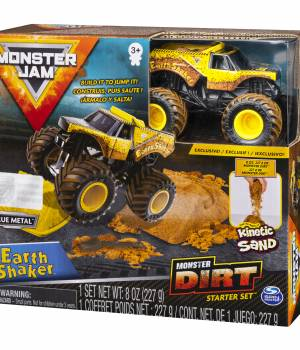 Monster Jam Kinetic Dirt Earth Shaker Starter Set
