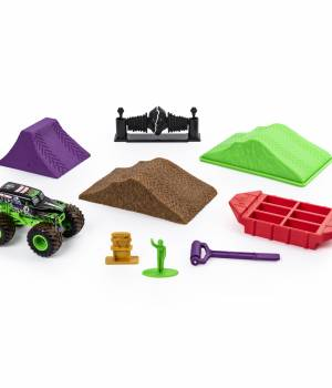 Monster Jam Grave Digger Dirt Deluxe Set