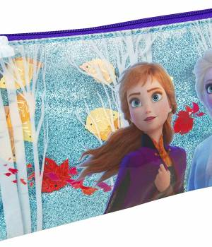 Frozen 2 Confetti Pencil Case with Pom Pom