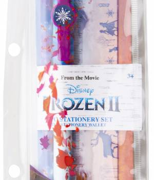 Frozen 2 Filled Zip Pencil Case
