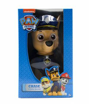 Paw Patrol Coin Bank CHASE